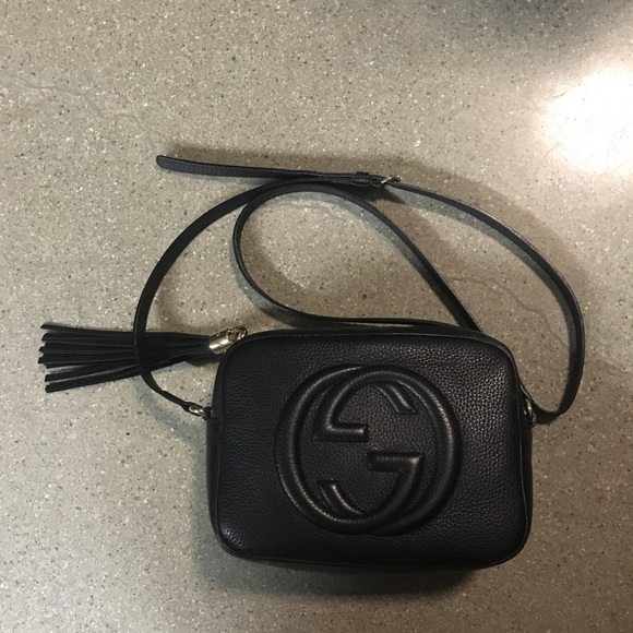 381a2a73f7c Gucci Handbags - Gucci Soho Disco Crossbody Black